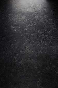 Ciemna czarna ściana tekstura tło