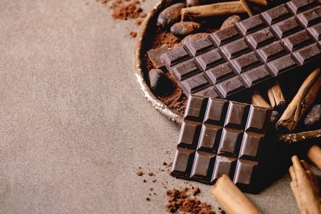 Ciemna czekolada z kakao