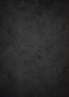 Ciemna i czarna ściana cementowa