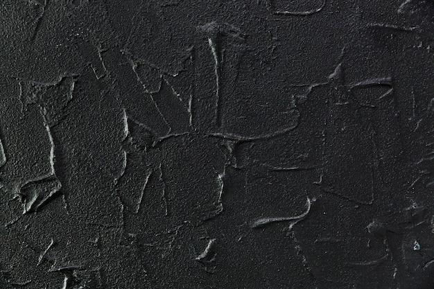 Ciemna i szorstka powierzchnia cementu