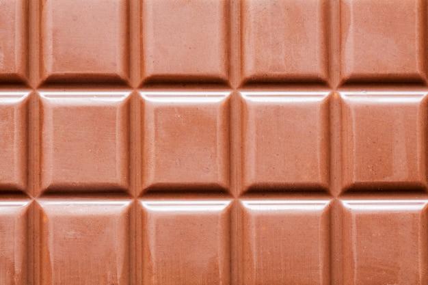Ciemna tabliczka czekolady jako tło