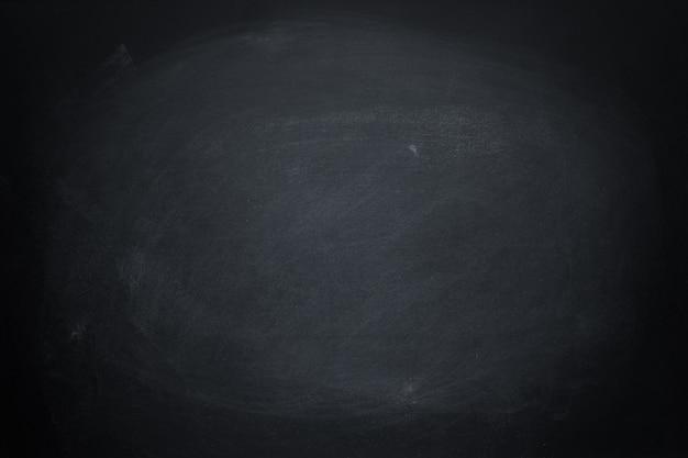 Ciemna tekstury kredy deska i grunge czerni deski tło