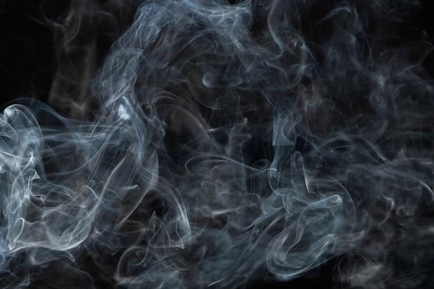 Ciemne abstrakcyjne tło tapety, tekstura dymu
