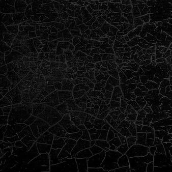 Ciemne czarne pęknięte tło