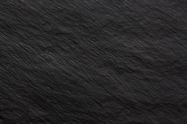 Ciemne czarne tło lub tekstura łupków
