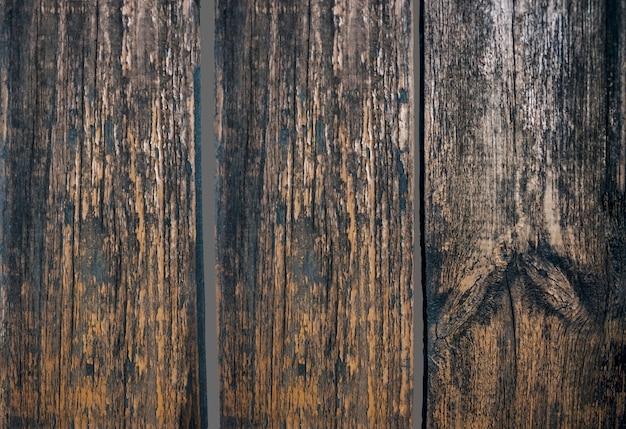 Ciemne drewniane deski jako tło