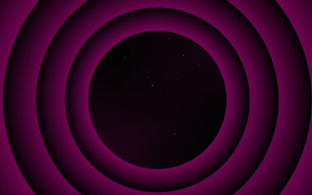 Ciemne fioletowe koła abstrakcyjne tło proste i czyste
