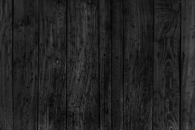 Ciemne ściany drewna
