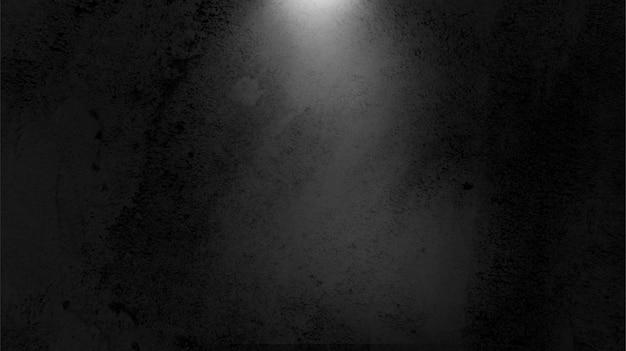 Ciemne tło pokoju ze światłem