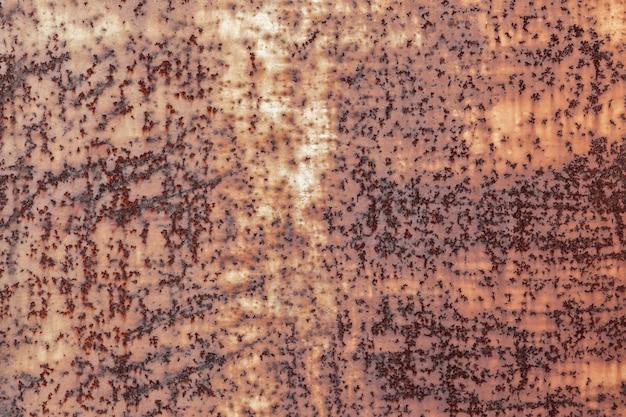 Ciemne zużyte zardzewiały metal tekstury tła vintage efekt