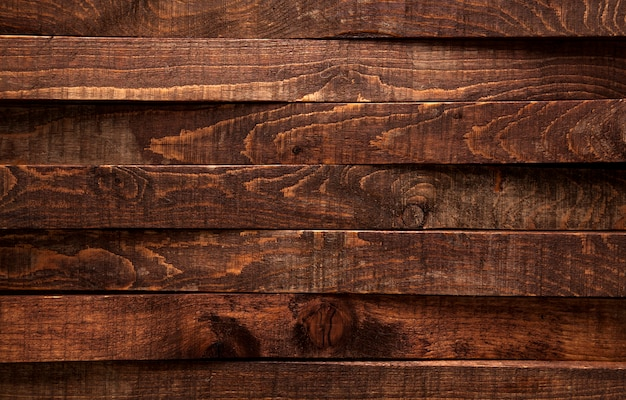 Ciemnego brązu tekstury drewniany tło