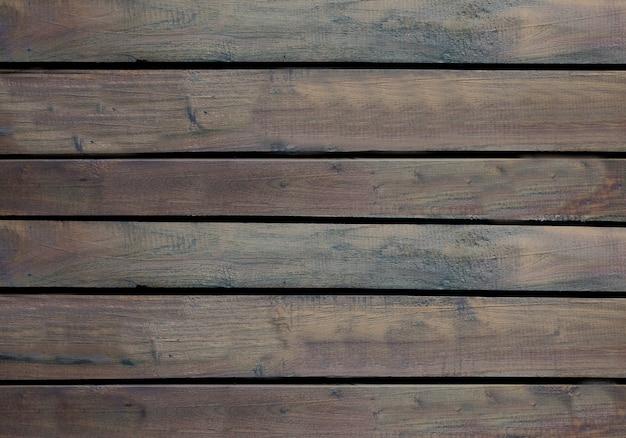 Ciemnobrązowe drewniane tekstury tła powierzchni