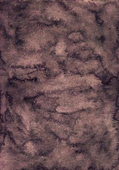 Ciemnobrązowe tło powierzchni akwarela