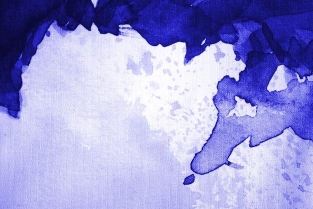 Ciemnoniebieskie tło akwarela. miejsce na tekst