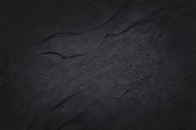 Ciemnoszara, czarna tekstura łupka o wysokiej rozdzielczości, ściana z naturalnego kamienia.