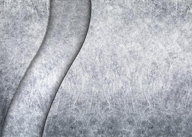 Ciemnoszara metalowa powierzchnia ze szczotkowaną fakturą