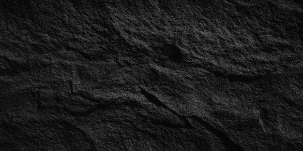 Ciemnoszare czarne tło lub tekstura łupków
