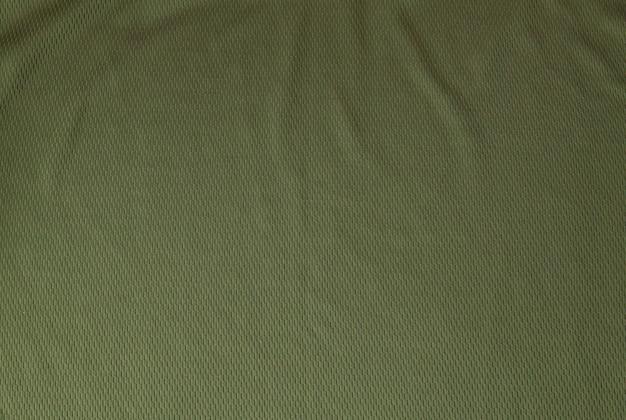Ciemnozielona szorstka tekstura tkaniny lnianej