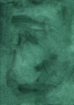 Ciemnozielone tło powierzchni akwarela