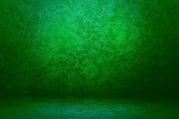 Ciemnozielone tło ściany