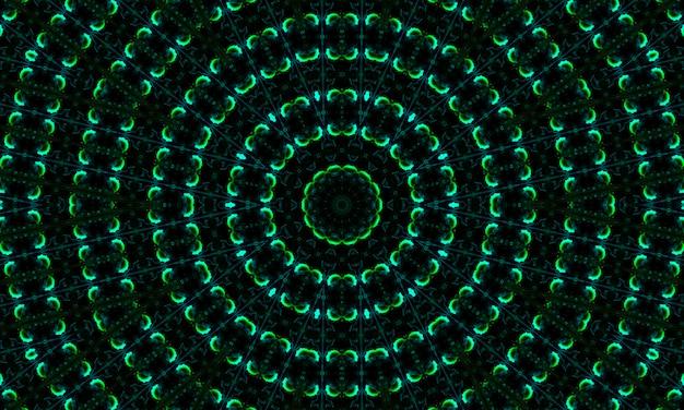 Ciemnozielony wzór ze znakami binarnymi. streszczenie technologia tło. z opadającymi kształtami stylu matrix.