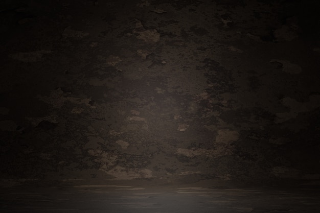 Ciemny brąz vintage tekstury ściany zarysowania niewyraźne tło plamy, renderowania 3d