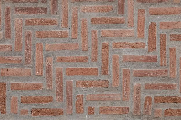 Ciemny czerwony mur z cegły tekstury