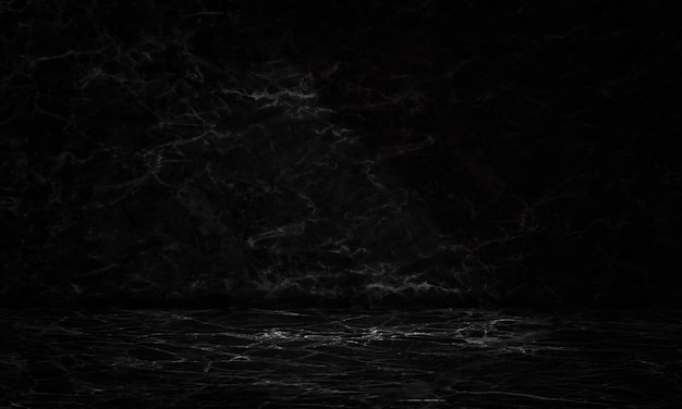 Ciemny marmur tekstury pokój wyświetlacz tła szablonu produktu