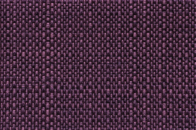 Ciemny purpurowy tekstylny tło z w kratkę wzorem