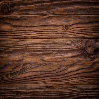 Ciemny stary drewniany stół tekstura widok z góry