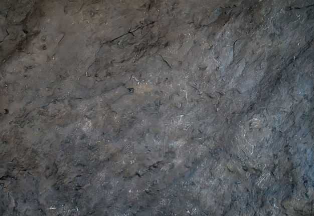 Ciemny szary naturalny łupek kamienia tekstury tło