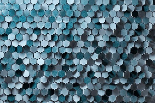 Cieniowany techniczny plaster miodu