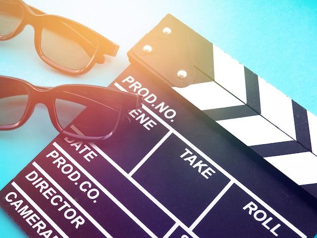 Clapperboard filmowy