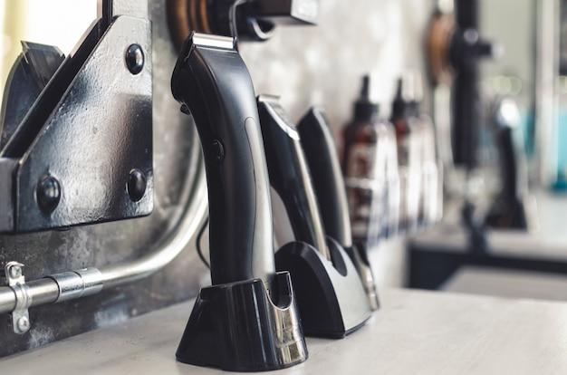 Clclose się różnych maszynek do golenia fryzjera bar