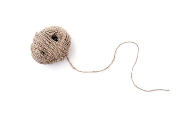 Clew lub piłka z izolowaną liną konopną