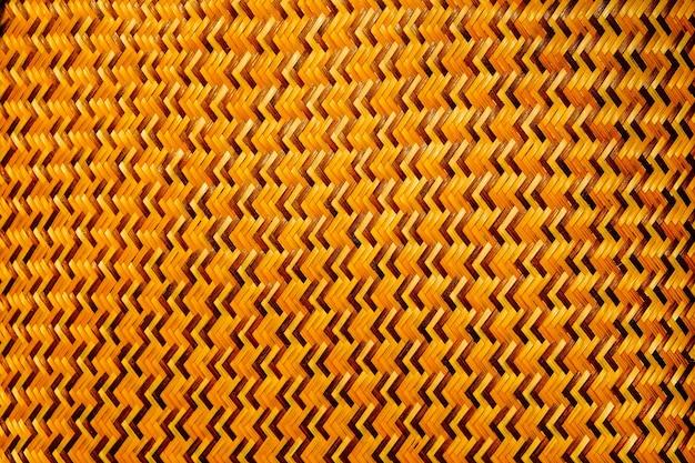 Close-up bambus splot jest zygzakowaty wzór