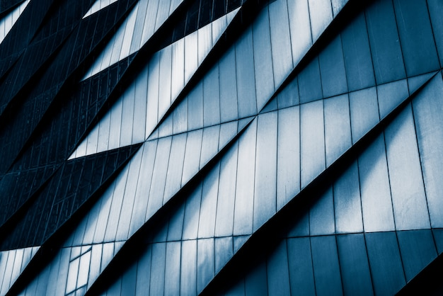 Close-up nowoczesnych budynków biurowych, szanghaj