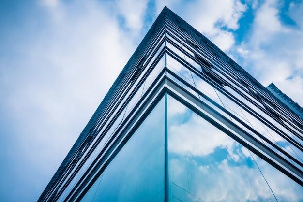 Close-up nowoczesnych budynków biurowych