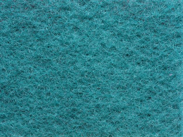 Close-up tekstura syntetyczna ściereczka do czyszczenia domu. widok z góry