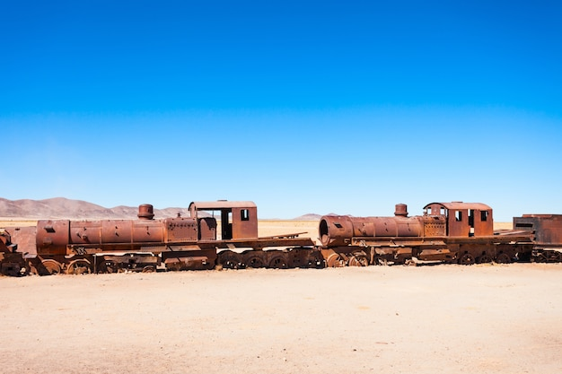 Cmentarz kolejowy w boliwii