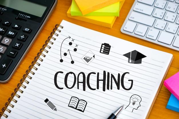 Coaching szkolenie planowanie nauczanie i szkolenie zawodowe przewodnik biznesowy lider instruktora