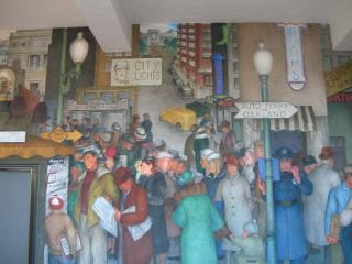 Coit mural kiosk