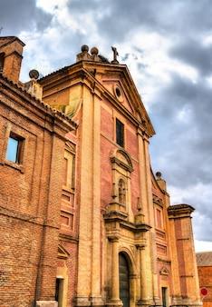 Colegio convento de los caracciolos w alcala de henares koło madrytu, hiszpania