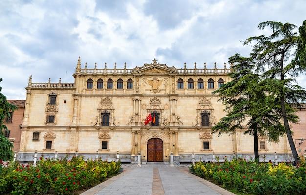 Colegio mayor de san ildefonso w alcala de henares koło madrytu, hiszpania