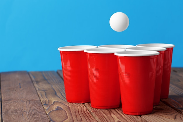 College party sport - piwo pong