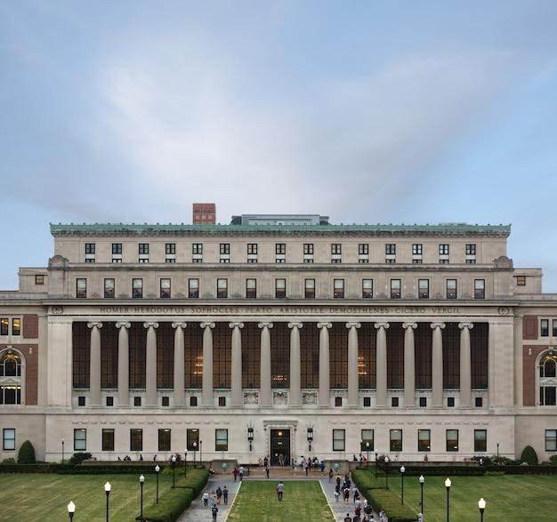 Columbia university, nowy jork, usa