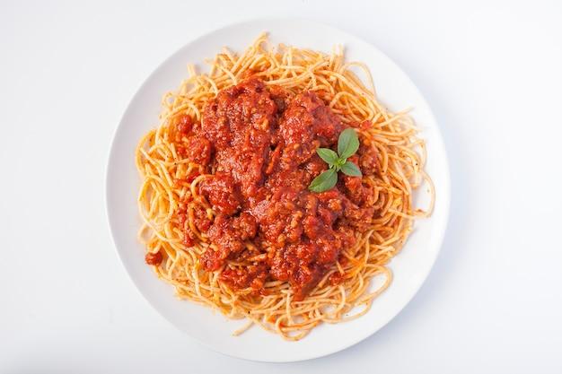 Comida styl życia spaghetti foodie gastronomia