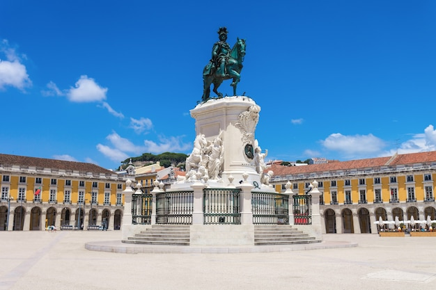 Commerce square znajduje się w mieście lizbona, portugalia