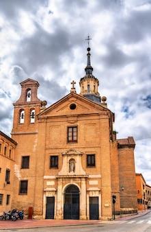 Convento de agustinas de santa maria magdalena w alcala de henares koło madrytu, hiszpania