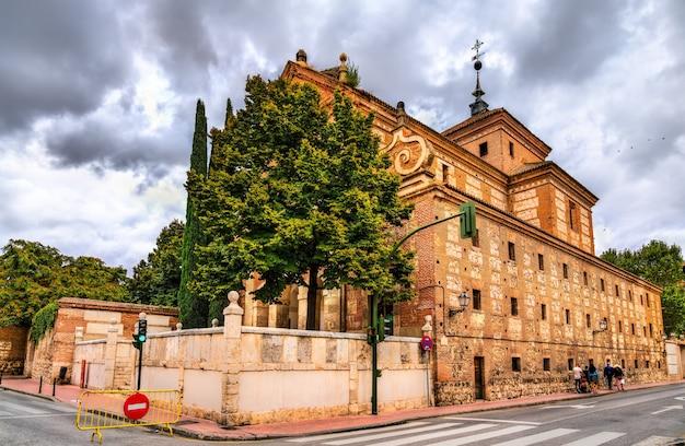 Convento de trinitarios descalzos w alcala de henares niedaleko madrytu, hiszpania